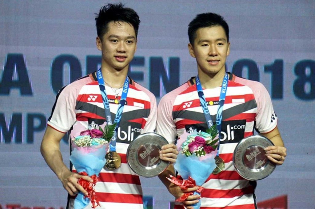 Duo Minion Rebut Gelar Juara Indonesia Open