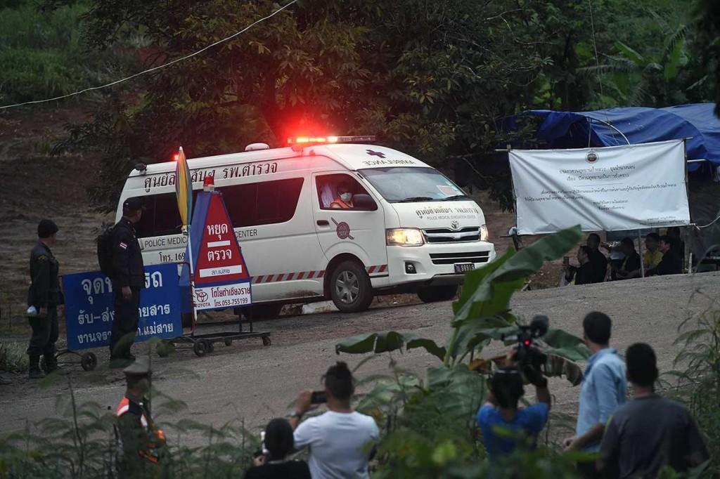 4 Anak Diselamatkan dari Gua Thailand yang Banjir