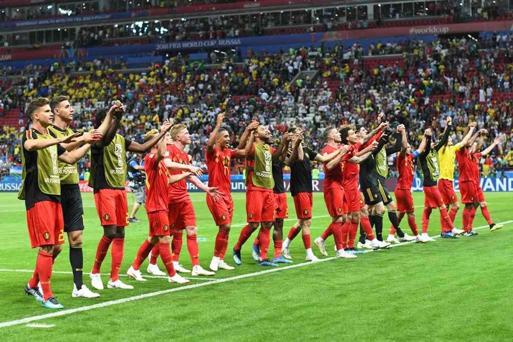 Belgia menjadi tim yang selalu meraih kemenangan di putaran final Piala Dunia 2018 (Foto: AFP/Jewel SAMAD)