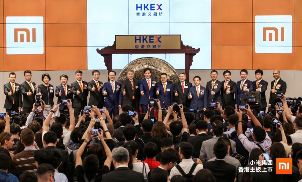 IPO Xiaomi resmi di Hong Kong