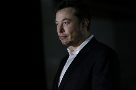 CEO SpaceX dan Boring Company, Elon Musk. (Joshua Lott/Getty