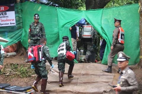 Identitas 4 Anak yang Keluar dari Gua Thailand Dirahasiakan
