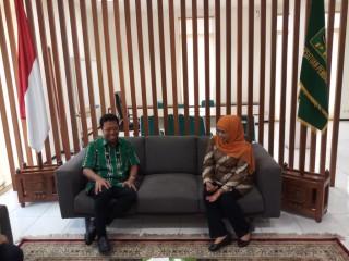 Khofifah Menyambangi DPP PPP