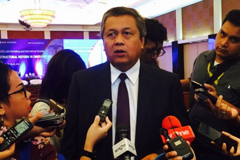 Gubernur Bank Indonesia Perry Warjiyo. (FOTO: Medcom.id/Eko