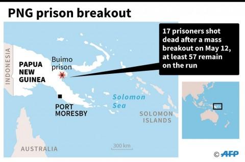 Empat Orang Tewas dalam Pelarian di Penjara PNG