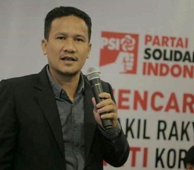 Ketua DPW Partai Solidaritas Indonesia (PSI) Aceh, Kamaruddin.