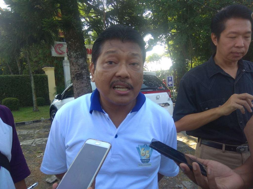 Anggota DPR-RI Komisi XI, Andreas Eddy Susetyo saat di Malang. (Foto: Daviq Umar Al Faruq, )