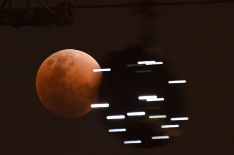Gerhana Bulan Terlama akan Berlangsung Juli Ini