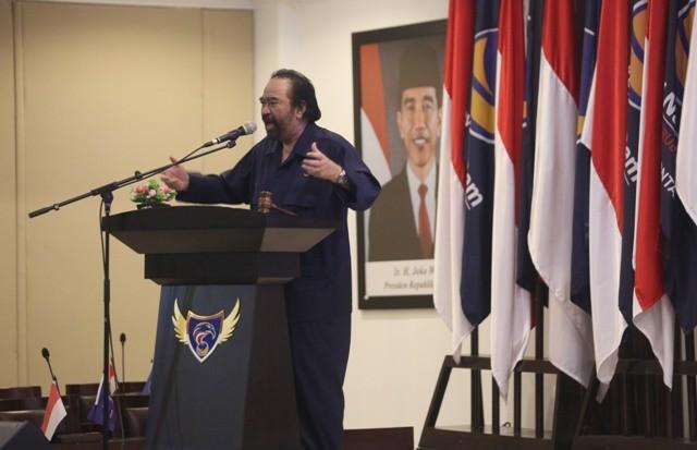 Ketua Umum Partai NasDem Surya Paloh. Foto: MI/Ramdani