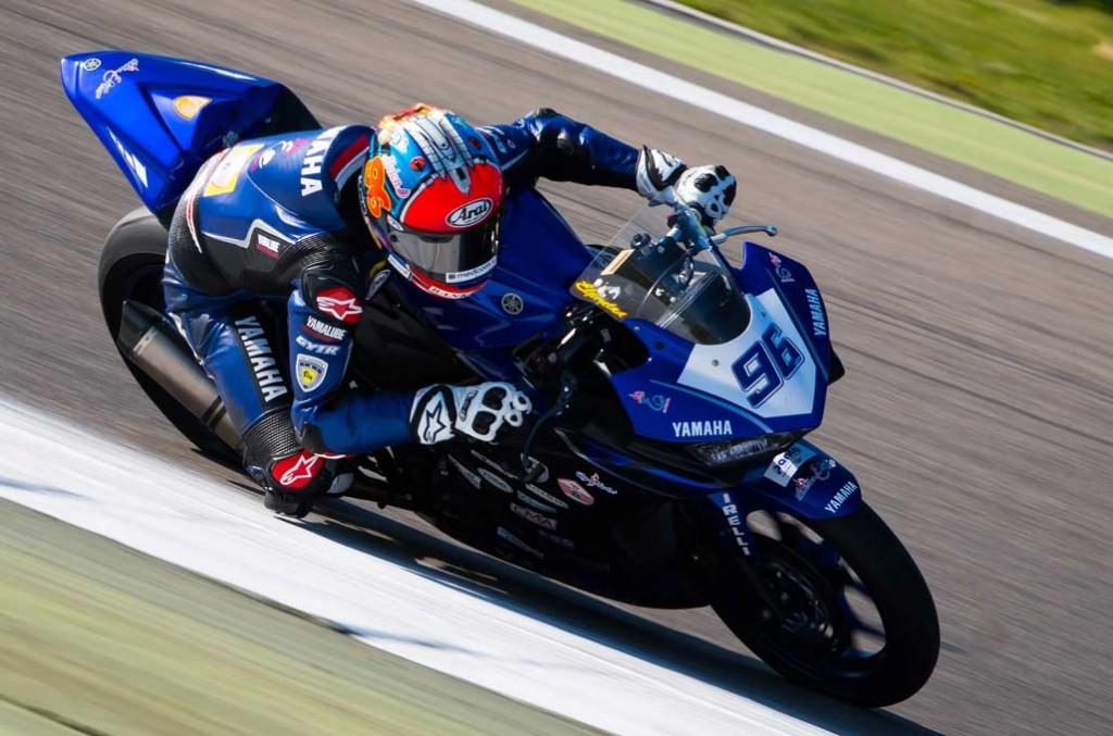Imanuel Putra Pratna akhirnya mampu finis di zona poin pada seri Misano, Italia. Terra e Moto