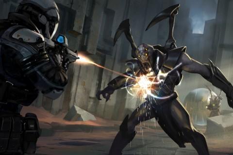 Midnight Shooter: Renegade adalah salah satu karya Industrial