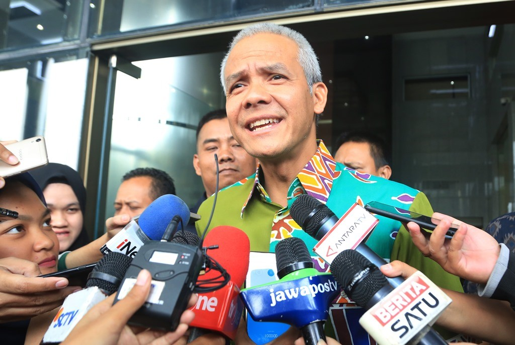 Gubernur Jateng Ganjar Pranowo. (ANT/Wibowo Armando)