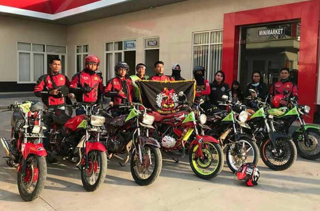 Kingers Kaltim dan Kaltara berkumpul di Muara Badak rayakan lebaran ala RX King. Andrie