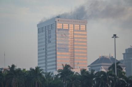 Penyebab Kebakaran Gedung Kemenhub Belum Ditemukan