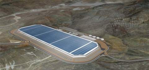 Saat ini, Tesla memiliki dua Gigafactory di AS.