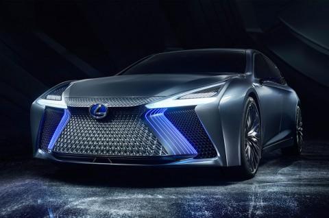 Lexus Bakal Pamer Mobil Konsep Otonom