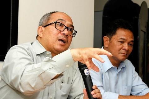 Dewan Redaksi Media Group Suryopratomo. (FOTO: MI/Panca Syurkani)