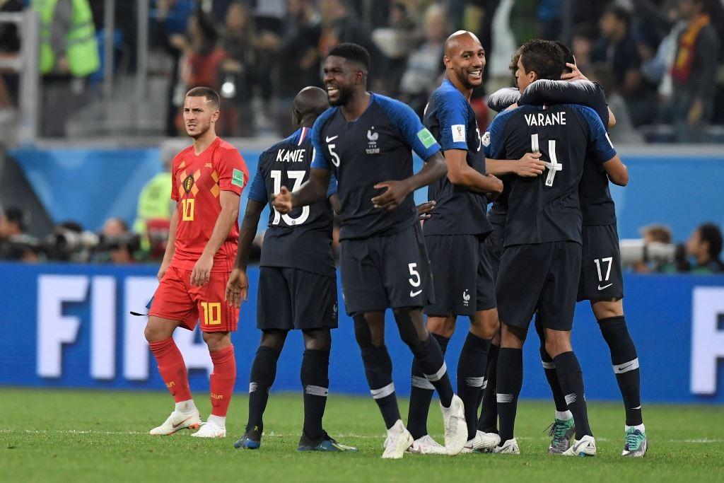 Skuat Timnas Prancis. (Foto: AFP/Gabriel Bouys)