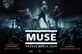 Film Muse Drones World Tour akan Tayang Serentak Satu Malam di Seluruh Dunia