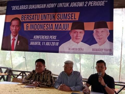 Gubernur dan Wakil Gubernur terpilih Sumatera Selatan Herman