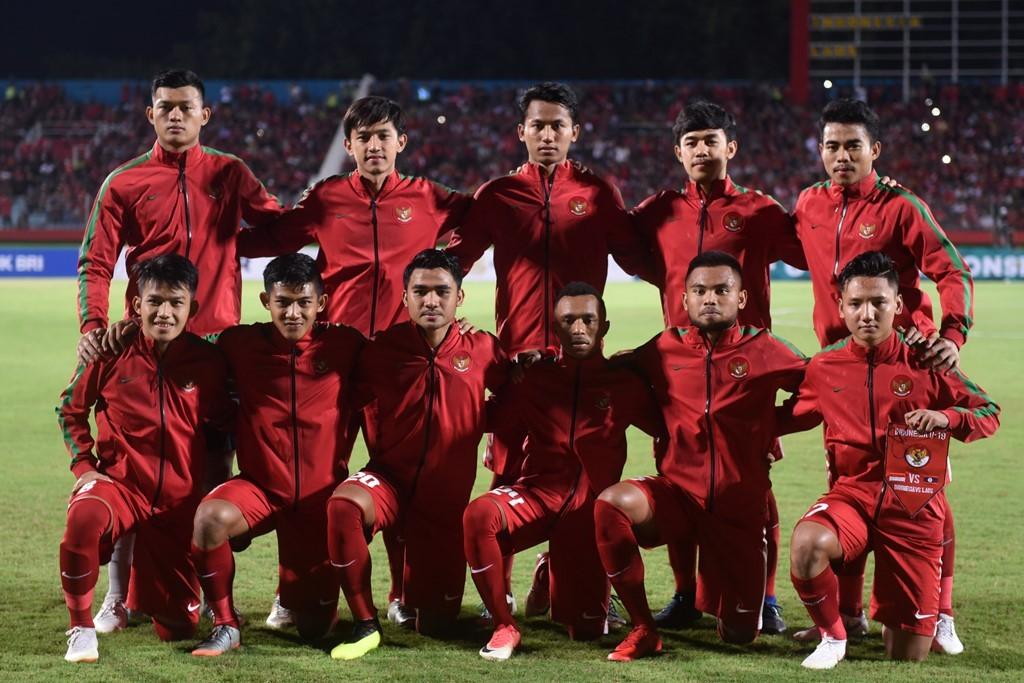 Timnas Indonesia U-19 di Stadion Gelora Delta Sidoarjo. (Foto: Antara/Zabur Karuru)