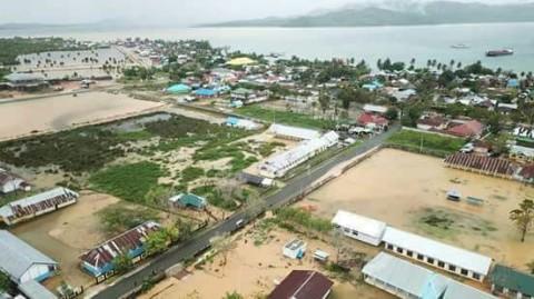 Banjir Landa Kabupaten Pulau Taliabu, 540 Jiwa Terdampak