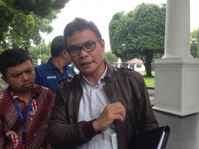 Presidential spokesperson Johan Budi (Photo:Medcom/Desi Angriani)