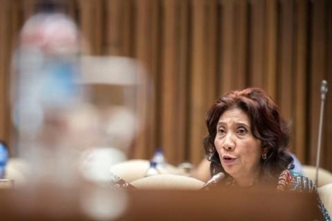 Menteri KKP Susi Pudjiastuti. Dok:ANT.
