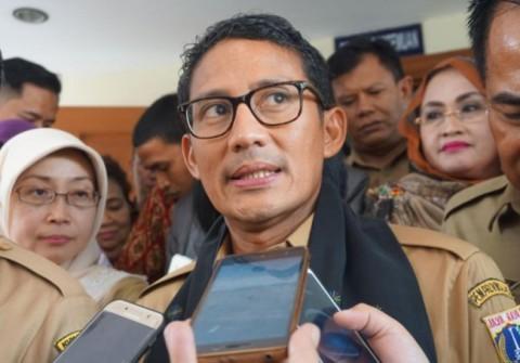 Wakil Gubernur DKI Jakarta Sandiaga Salahuddin Uno--Medcom.id