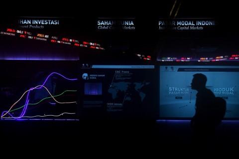 Ilustrasi kegiatan di pasar modal. (FOTO: ANTARA/Sigid