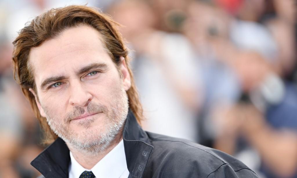 Joaquin Phoenix di Festival Cannes 2017 (Foto: via The Guardian)