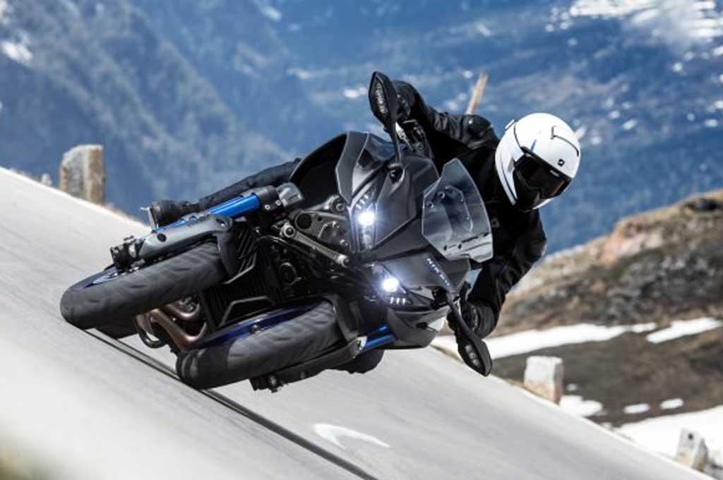 Yamaha Niken usung teknologi Leaning Multi-Wheele. Autoevolution