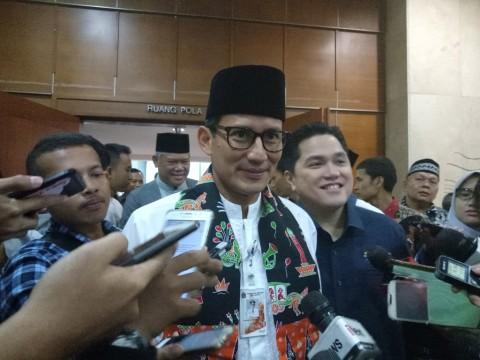 Wakil Gubernur DKI Jakarta Sandiaga Uno.- Medcom.id/Siti Yona