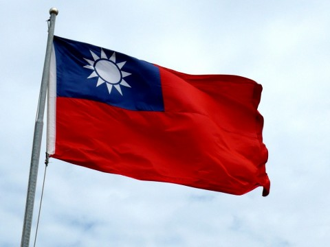 Bendera Taiwan disensor di iPhone Tiongkok. (Wikimedia Commons)