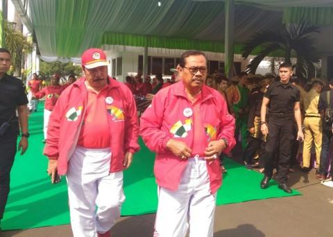 Jaksa Agung M Prasetyo di pekan olahraga Hari Bhakti Adhyaksa