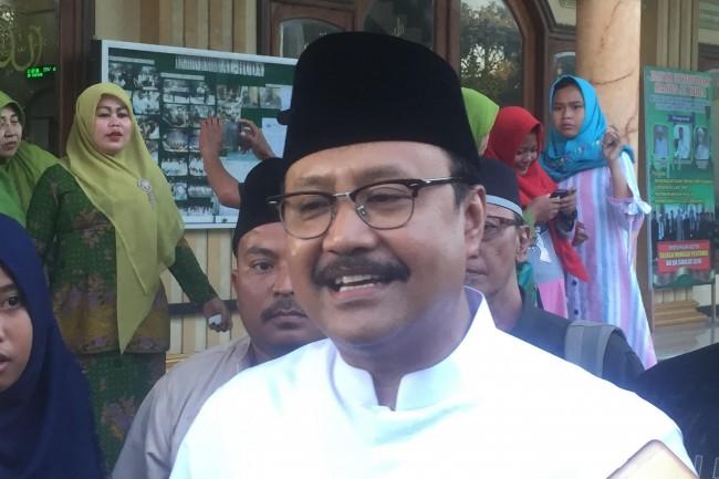 Wakil Gubernur Jawa Timur Saifullah Yusuf yang akrab disapa Gus Ipul. Foto: MTVN/Amaluddin