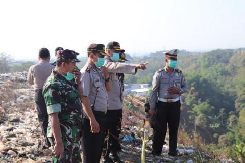 Pencarian korban tertimbun longsor di TPA Supit Urang