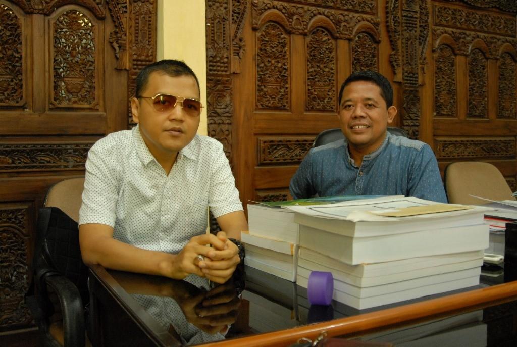Ketua DPRD Kabupaten Tegal A Firdaus Assyairozi. (Medcom.id /Kuntoro Tayubi)