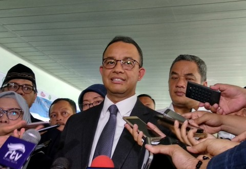 Anies: Saya Sedang Mengurus Jakarta