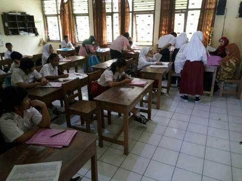 Pendaftaran PPDB SMP di Solo, Jawa Tengah. Medcom.id/Pythag