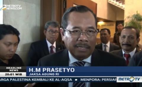 Jaksa Agung H. M Prasetyo.