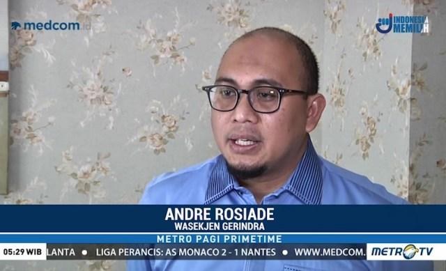 Anggota Badan Komunikasi DPP Partai Gerindra, Andre Rosiade.