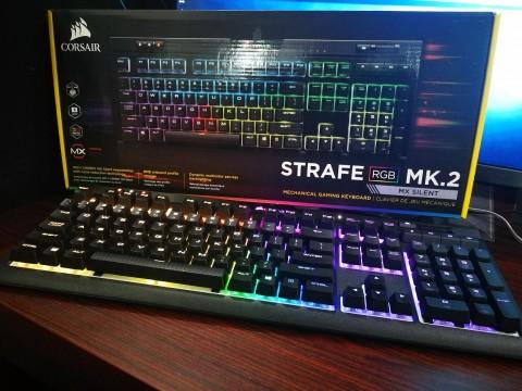 Corsair Strafe RGB MK.2 (MX Silent), Diam-Diam Memukau