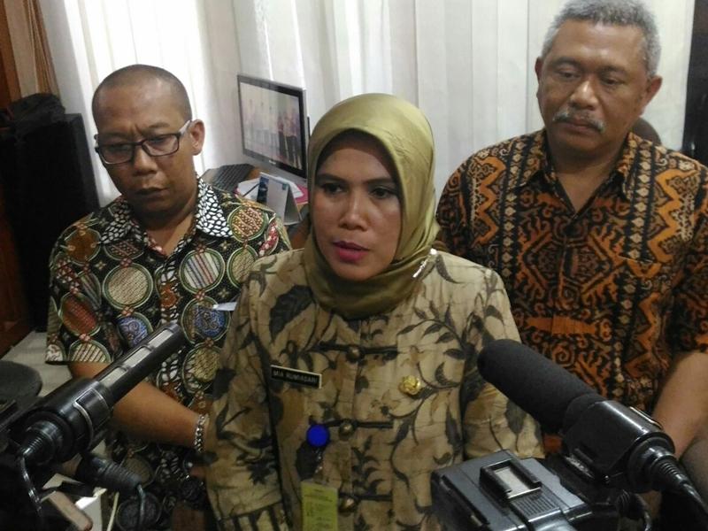 Sekretaris Dinas Pendidikan Kota Bandung Mia Rumiasari. Medcom.id/Roni Kurniawan