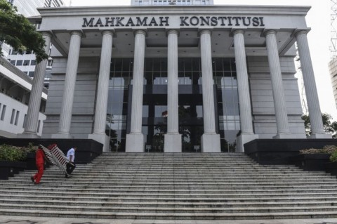 MK. Foto: Antara/Hafidz Mubarak.