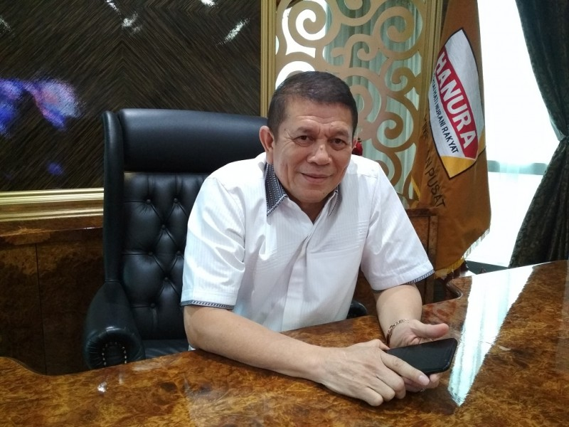 Sekjen Partai Hanura, Herry Lontung Siregar - Medcom.id/Deny Irwanto.