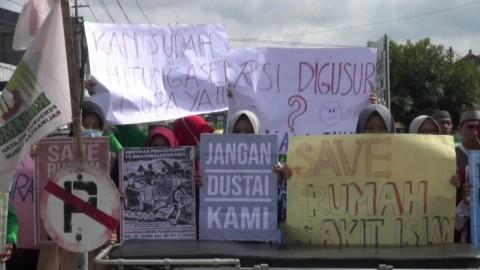 Karyawan RS Islam Samarinda Tolak Kosongkan Lahan