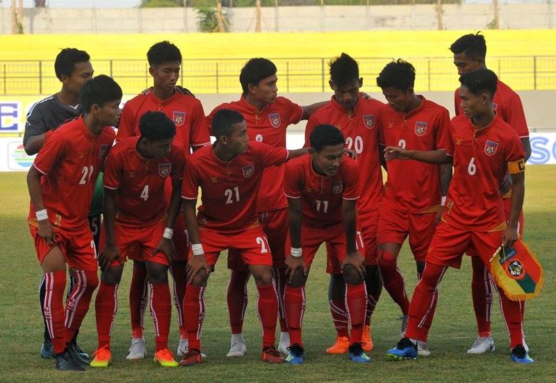 Skuat Myanmar U-19. (aseanfootball.org)