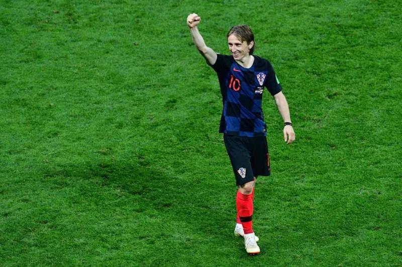 Luka Modric (Foto: AFP/MLADEN ANTONOV)