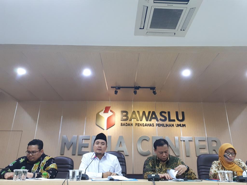 Rilis Bawaslu terkait Pilkada Serentak 2018. Foto: Medcom.id/Faisal Abdalla.